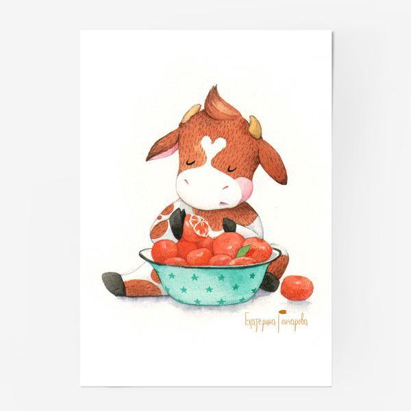 Постер «мандариновый рай»