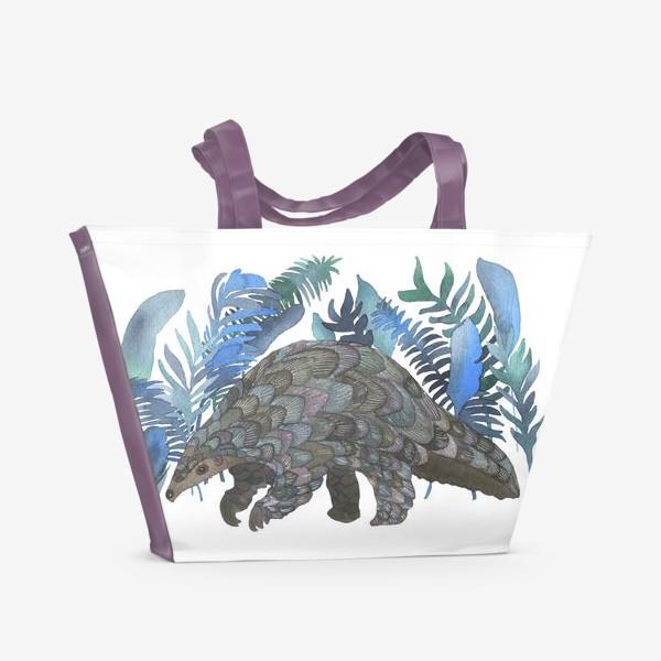 Пляжная сумка «Панголин»