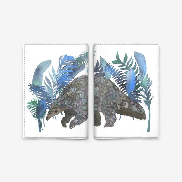 Обложка для паспорта «Панголин»