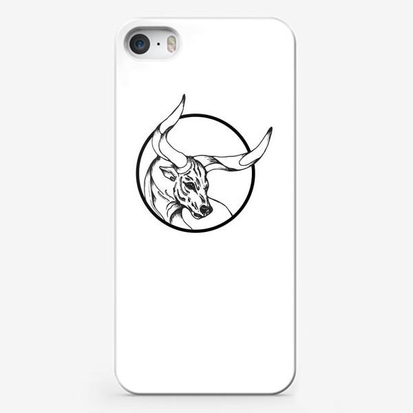 Чехол iPhone «Бык символ 2021»