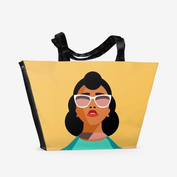 Пляжная сумка «Знак зодиака. Дева»