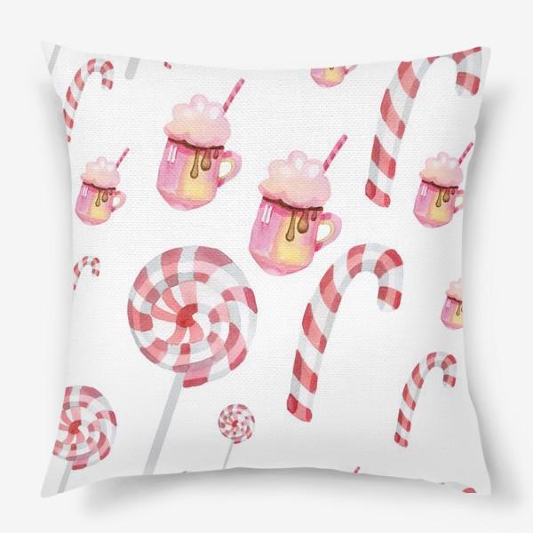 Подушка «Сладости на Новый год»