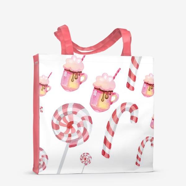 Сумка-шоппер «Сладости на Новый год»