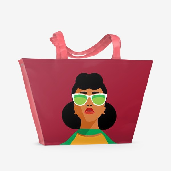 Пляжная сумка «Знак зодиака. Водолей»