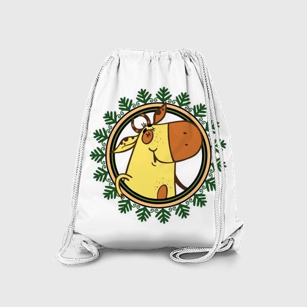 Рюкзак «Новогодний бычок»