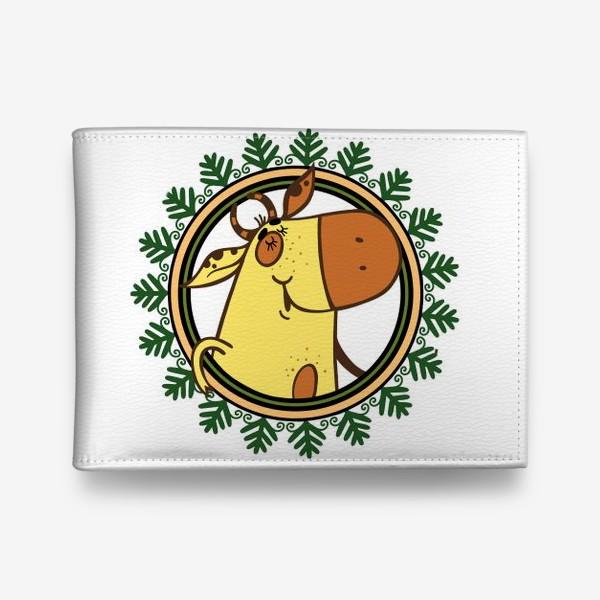 Кошелек «Новогодний бычок»