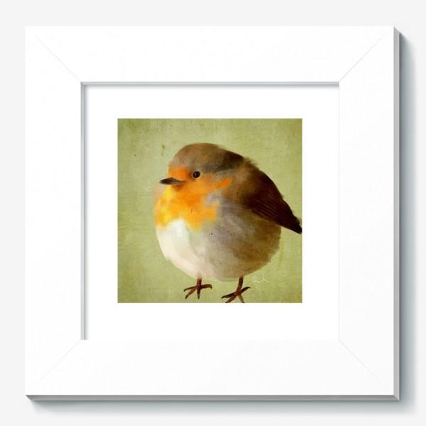 Картина «chubby bird»