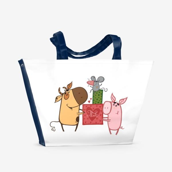 Пляжная сумка «Тебе»