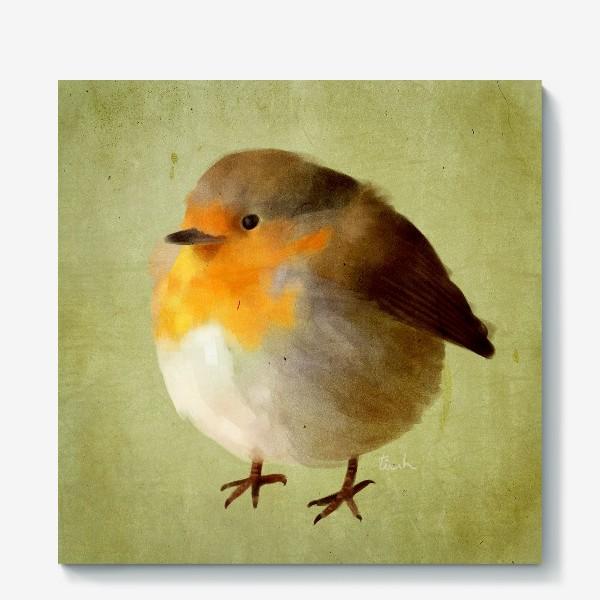 Холст «chubby bird»