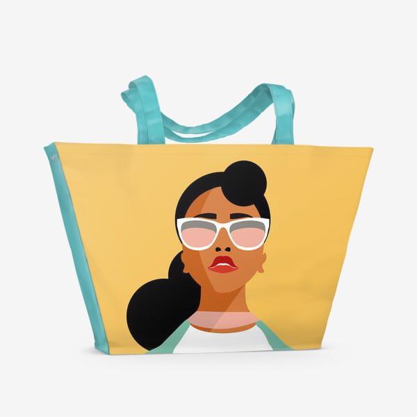 Пляжная сумка «Знак зодиака. Козерог»