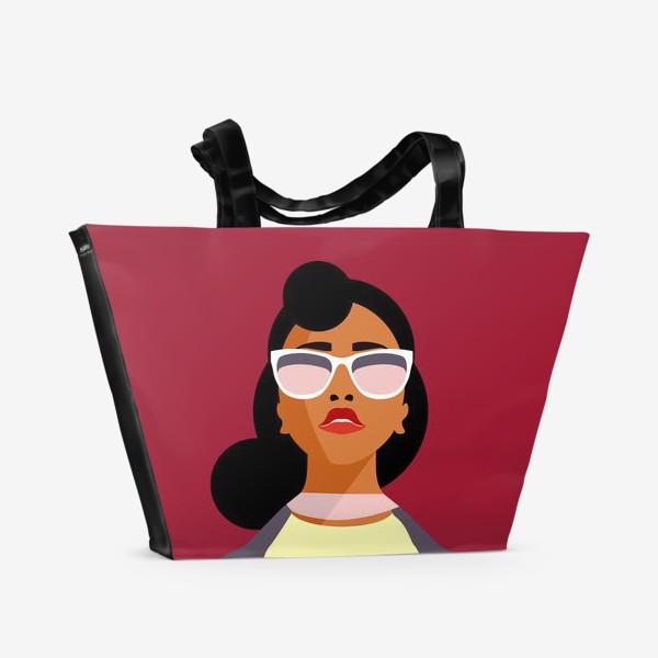 Пляжная сумка «Знак зодиака. Лев»