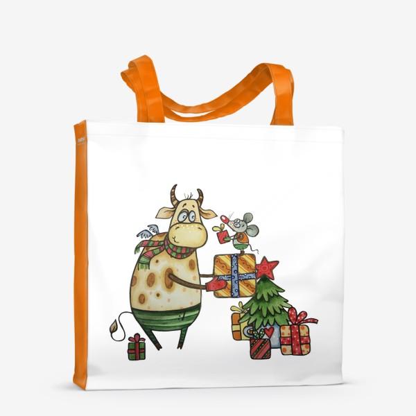 Сумка-шоппер «Новый год!»