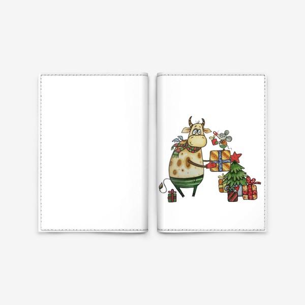 Обложка для паспорта «Новый год!»