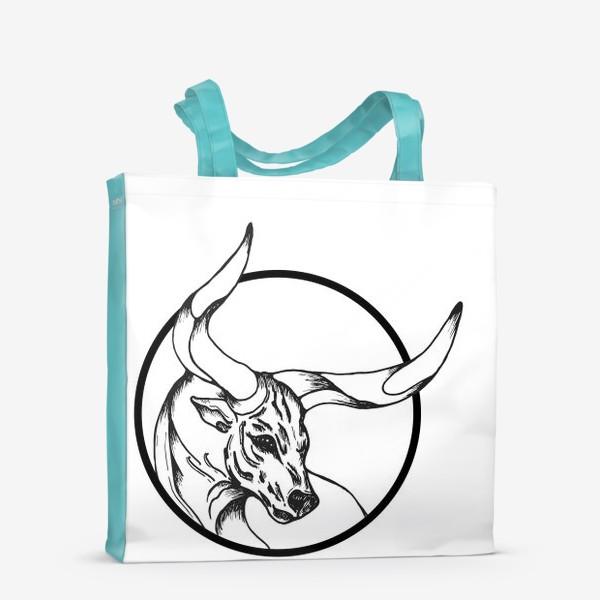 Сумка-шоппер «Бык символ 2021»