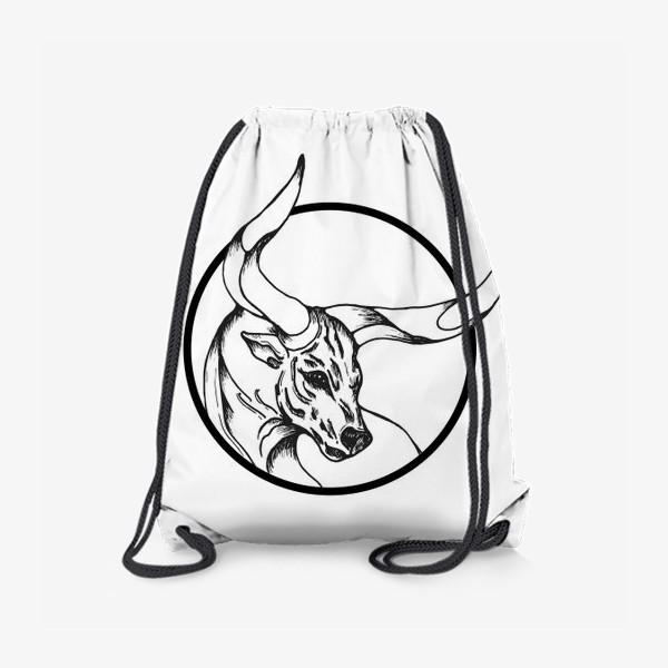 Рюкзак «Бык символ 2021»