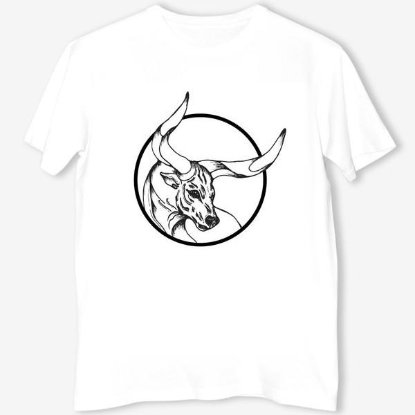 Футболка «Бык символ 2021»