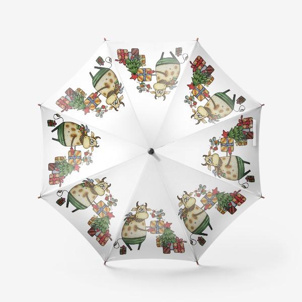 Зонт «Новый год!»