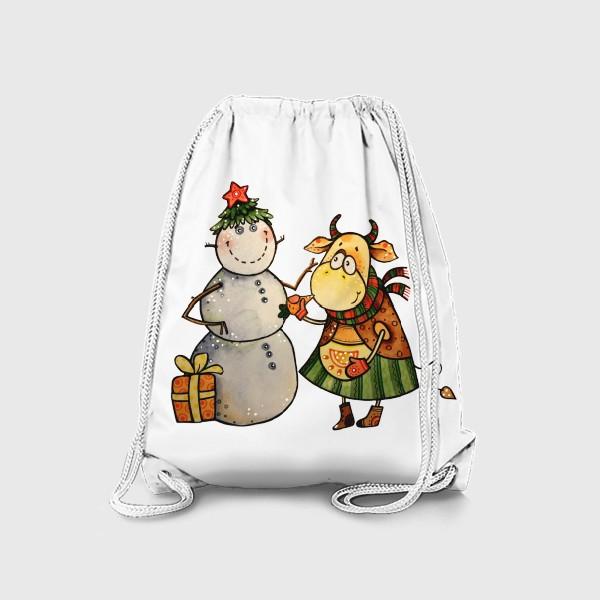 Рюкзак «Новогодние забавы»