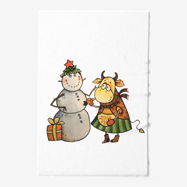 Полотенце «Новогодние забавы»