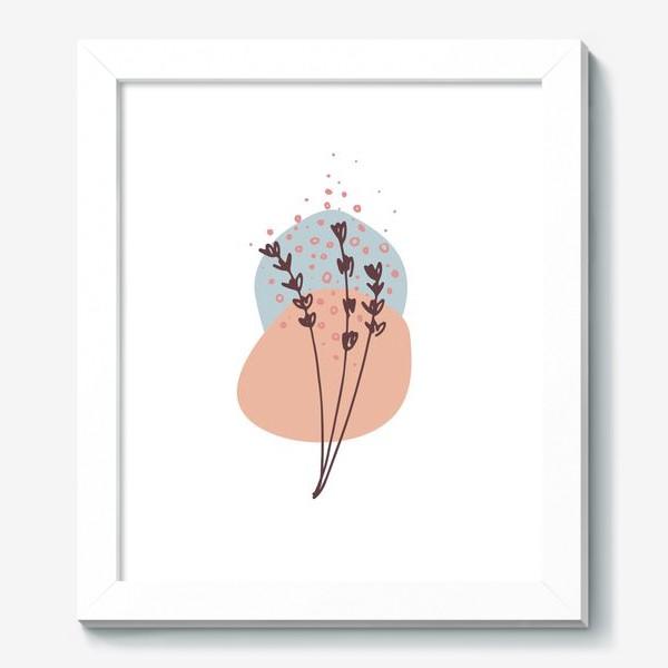 Картина «Цветы абстракция 2»