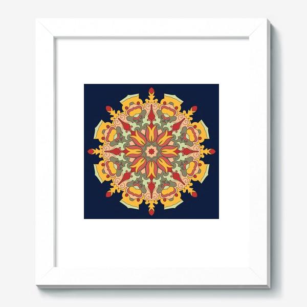 Картина «Круговой орнамент в восточном стиле»
