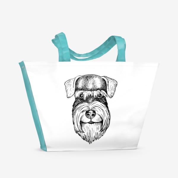 Пляжная сумка «шнау ушастик»