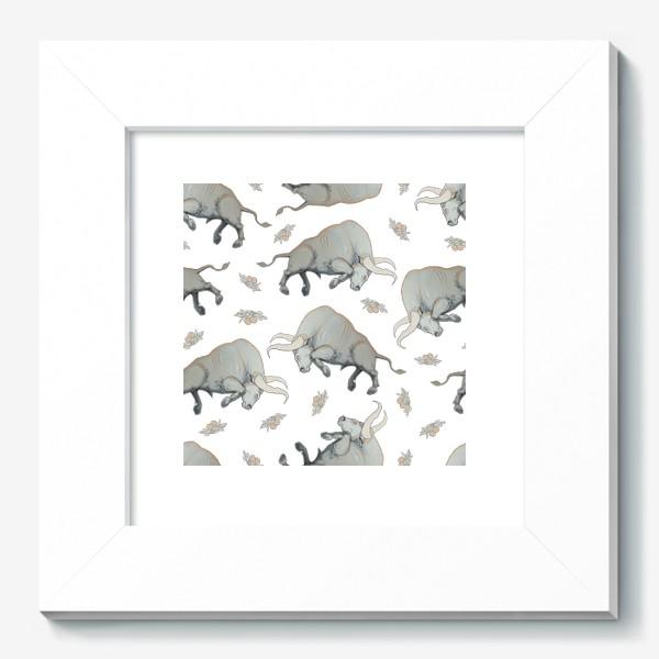 Картина «Bulls pattern»