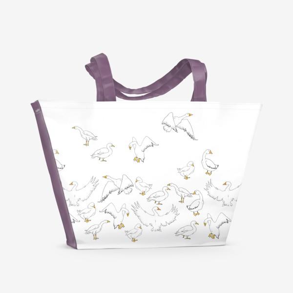 Пляжная сумка «Ga-ga»