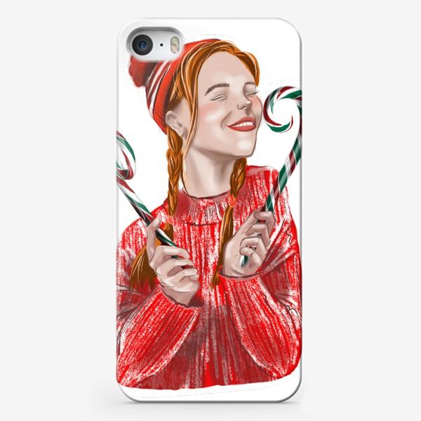 Чехол iPhone «Веселье на рождество»