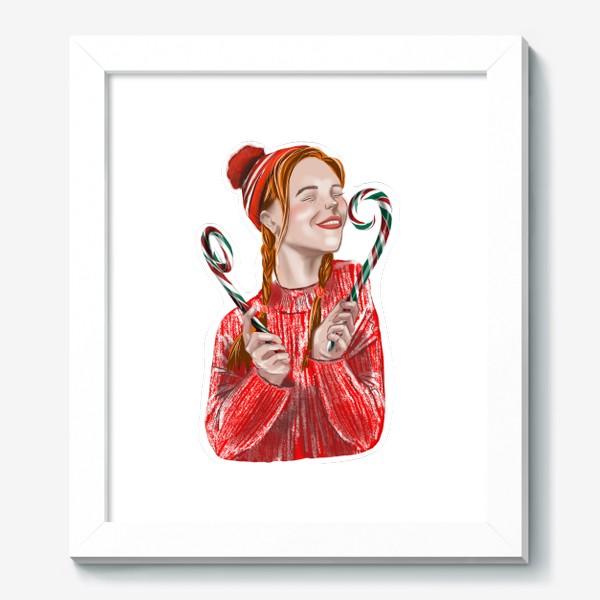 Картина «Веселье на рождество»