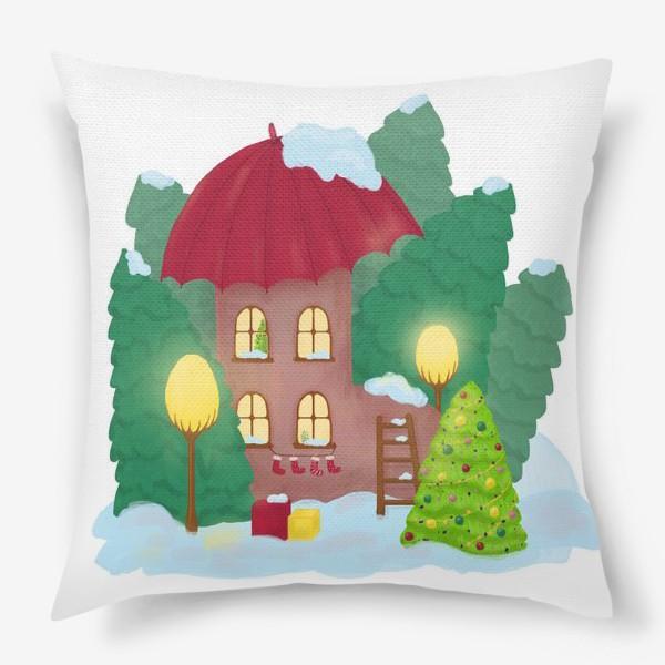 Подушка «Сказочный домик»