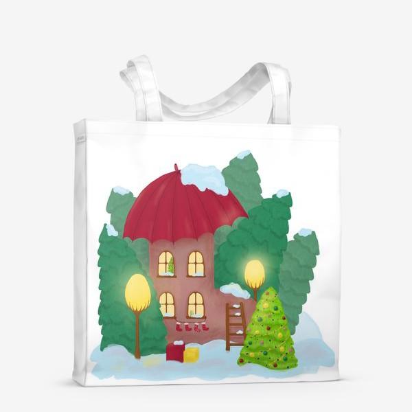 Сумка-шоппер «Сказочный домик»
