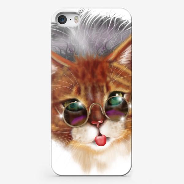 Чехол iPhone «Кот Эйнштейна »