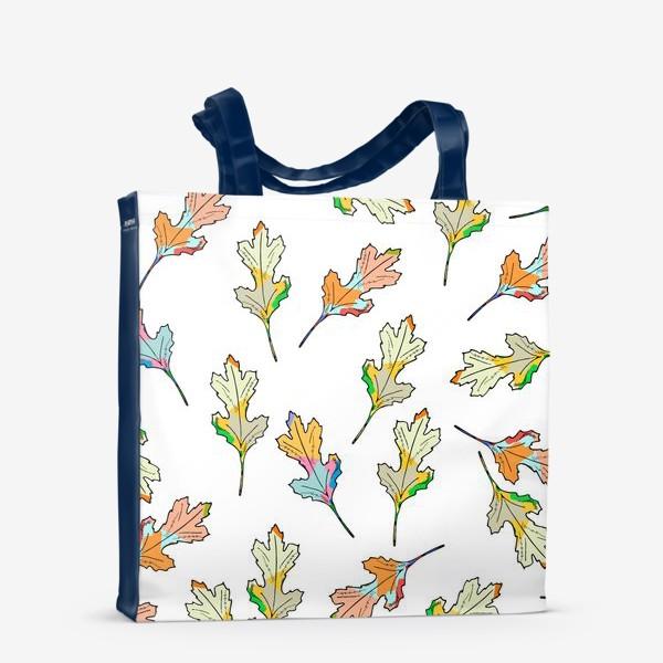 Сумка-шоппер «листья»