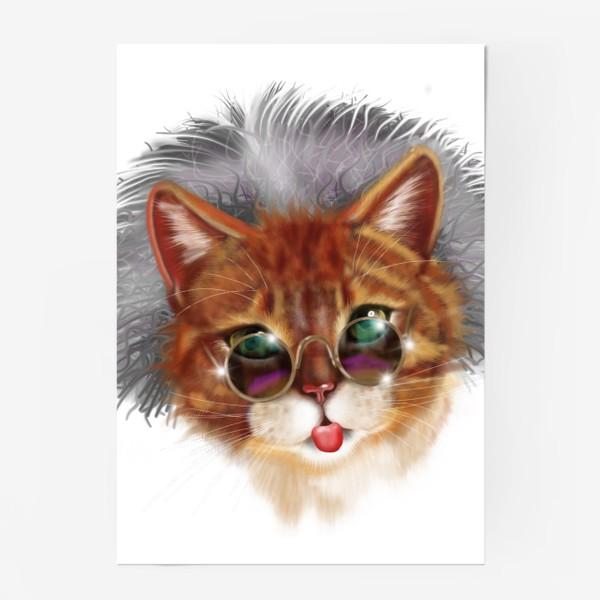 Постер «Кот Эйнштейна »