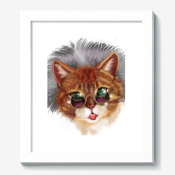 Картина «Кот Эйнштейна »