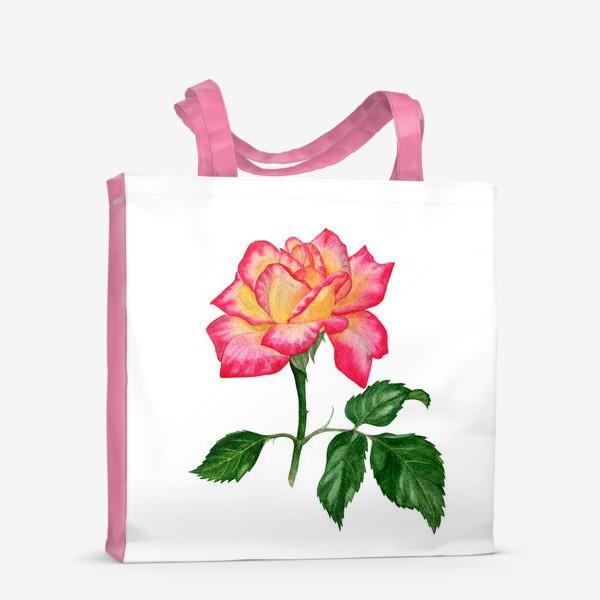 Сумка-шоппер «Розовая роза»