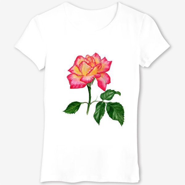 Футболка «Розовая роза»