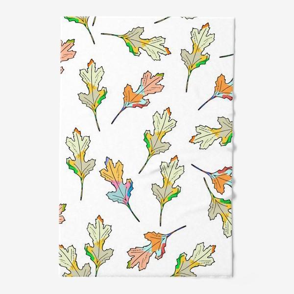 Полотенце «листья»