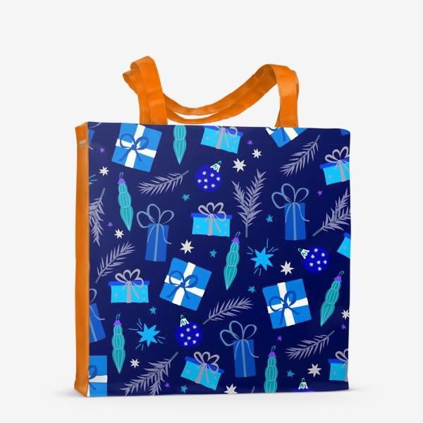 Сумка-шоппер «новогодние подарки»