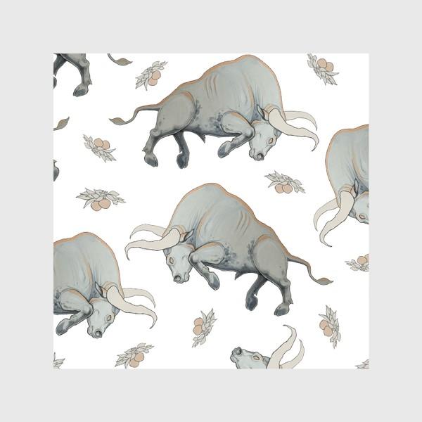 Шторы «Bulls pattern»