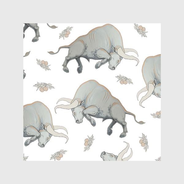 Скатерть «Bulls pattern»