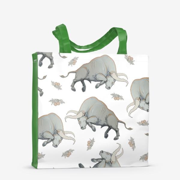 Сумка-шоппер «Bulls pattern»