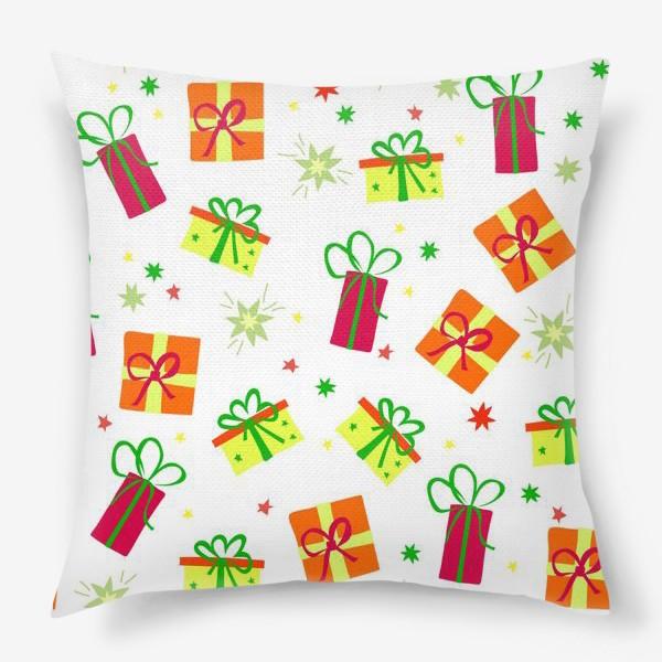 Подушка «подарки»