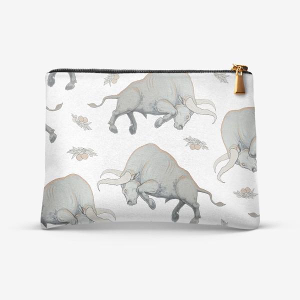 Косметичка «Bulls pattern»
