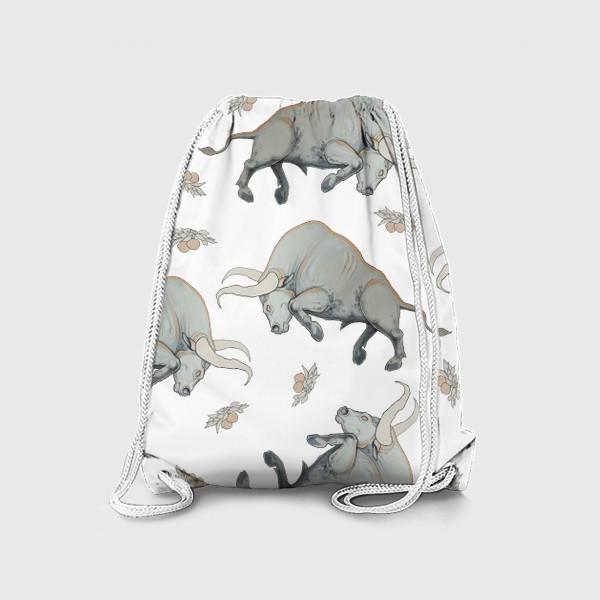 Рюкзак «Bulls pattern»