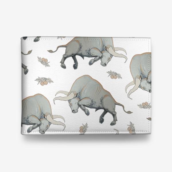 Кошелек «Bulls pattern»