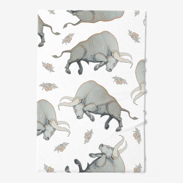 Полотенце «Bulls pattern»