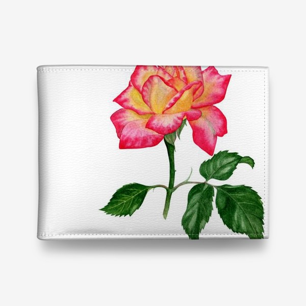 Кошелек «Розовая роза»