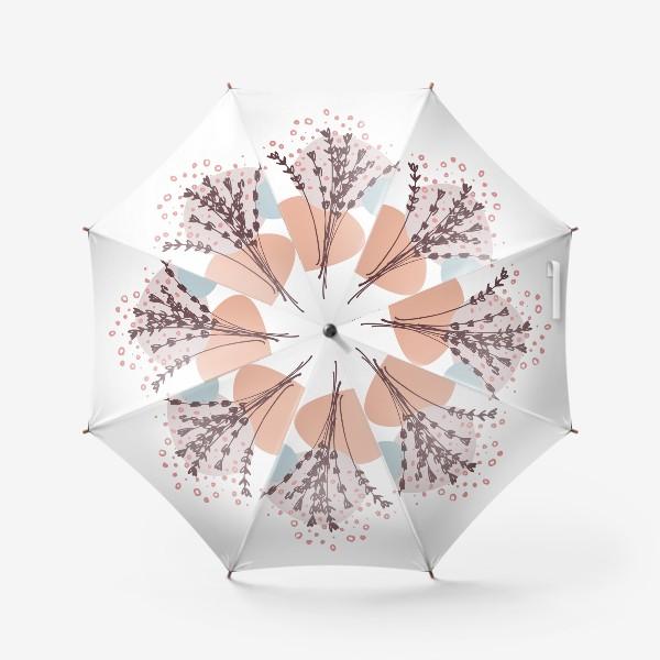 Зонт «Цветы абстракция»